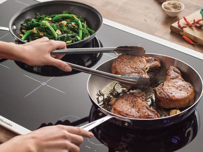 Koekenpan voor inductie kookplaat