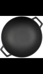BBQ Toro gietijzeren wok voor inductie en BBQ