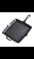 Vierkante grillpan puur gietijzer van Camp Chef