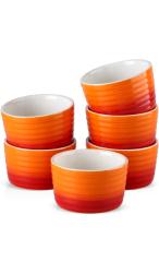 MALACASA Ramekins Oranje 200 ml