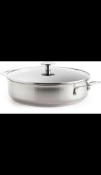 KitchenAid Stainless Steel Hapjespan met Deksel