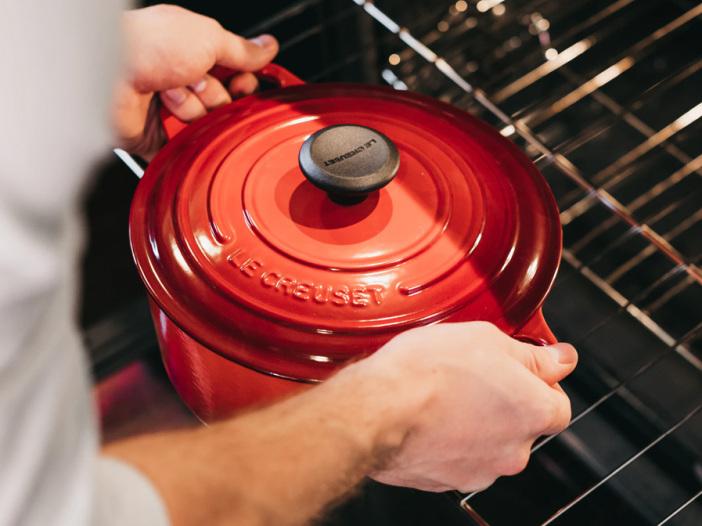 Ovenvaste pannen voor gebruik in de oven